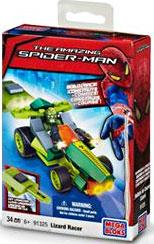 Amazing Spider-Man Mega Bloks Set #91325 Lizard Racer