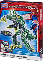 Amazing Spider-Man Mega Bloks Set #91332 Lizard Techbot