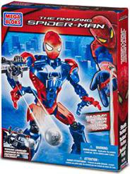 Amazing Spider-Man Mega Bloks Set #91296 Stealth Techbot