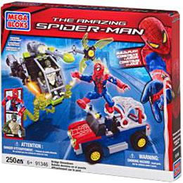 Amazing Spider-Man Mega Bloks Set #91346 Bridge Showdown