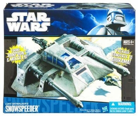 Star Wars 2010 Vehicle Luke Skywalker's Snowspeeder