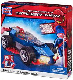 Amazing Spider-Man Mega Bloks Set #91337 Spider-Man Speeder