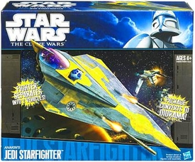 Star Wars 2010 Vehicle Anakin's Jedi [Delta] Starfighter