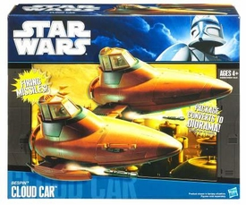Star Wars 2010 Vehicle Bespin Cloud Car
