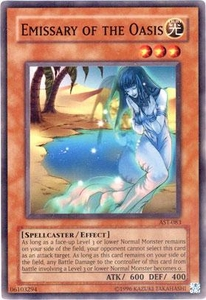 YuGiOh Ancient Sanctuary Single Card Common AST-083 Emissary of the Oasis