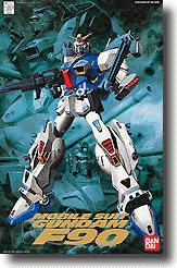 Gundam 1/100 Scale High Grade Model Kit Mobile Suit Gundam F90 A/D/S Type