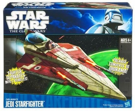Star Wars 2010 Vehicle Obi-Wan's Jedi Starfighter