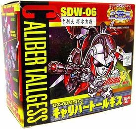 Gundam SD Superior Defender Gundam Wing Mini Model Kit Caliber Tallgess SDW-06