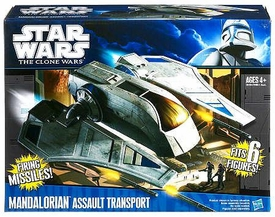 Star Wars 2011 Clone Wars Vehicle Mandalorian Assault Transport [Could be Bi-Lingual or Tri-Lingual Packaging!]
