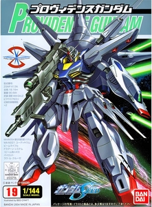 Gundam Seed 1/144 Scale Basic Grade Model Kit #19 Providence Gundam