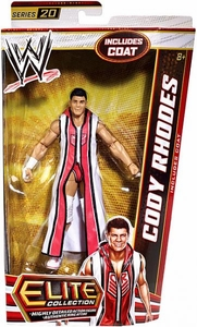 Mattel WWE Wrestling Elite Series 20 Action Figure Cody Rhodes [Coat!]