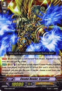 Cardfight Vanguard ENGLISH Breaker of Limits Single Card RR Rare BT06-009EN Cosmo Healer, Ergodiel