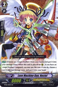 Cardfight Vanguard ENGLISH Breaker of Limits Single Card RR Rare BT06-011EN Love Machine Gun, Nociel