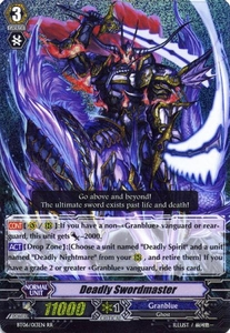 Cardfight Vanguard ENGLISH Breaker of Limits Single Card RR Rare BT06-013EN Deadly Swordmaster