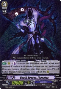 Cardfight Vanguard ENGLISH Breaker of Limits Single Card RR Rare BT06-014EN Death Seeker, Thanatos