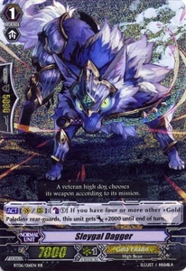 Cardfight Vanguard ENGLISH Breaker of Limits Single Card RR Rare BT06-016EN Sleygal Dagger