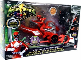 Power Rangers Mighty Morphin Vehicle Zord System Red Cycle Accelerator