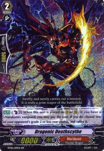 Cardfight Vanguard ENGLISH Breaker of Limits Single Card RR Rare BT06-019EN Dragonic Deathscythe