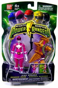 Power Rangers Mighty Morphin 4 Inch Action Figure Pink Ranger [Version 1]