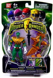 Power Rangers Mighty Morphin 4 Inch Action Figure Green Ranger