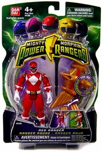 Power Rangers Mighty Morphin 4 Inch Action Figure Red Ranger