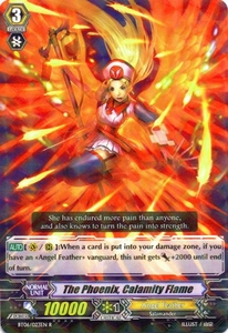 Cardfight Vanguard ENGLISH Breaker of Limits Single Card Rare BT06-023EN The Phoenix, Calamity Flame