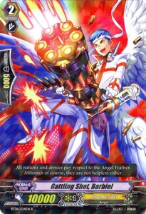 Cardfight Vanguard ENGLISH Breaker of Limits Single Card Rare BT06-024EN Gattling Shot, Barbiel
