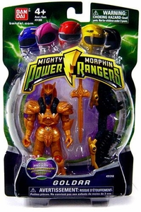 Power Rangers Mighty Morphin 4 Inch Action Figure Goldar