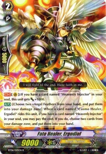 Cardfight Vanguard ENGLISH Breaker of Limits Single Card Rare BT06-025EN Fate Healer, Ergodiel