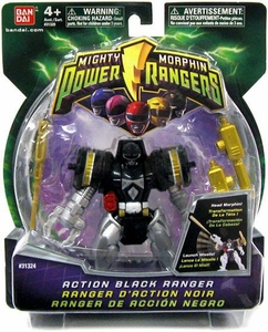 Power Rangers Mighty Morphin 4 Inch DX Action Figure Black Ranger