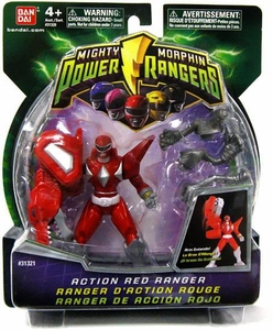 Power Rangers Mighty Morphin 4 Inch DX Action Figure Red Ranger