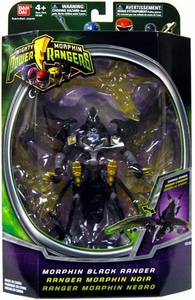 Power Rangers Mighty Morphin 5 Inch Action Figure Morphin Black Ranger