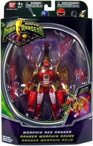 Power Rangers Mighty Morphin 5 Inch Action Figure Morphin Red Ranger