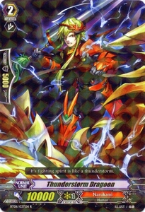 Cardfight Vanguard ENGLISH Breaker of Limits Single Card Rare BT06-037EN Thunderstorm Dragoon