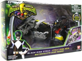 Power Rangers Mighty Morphin Black Dino Cycle