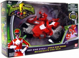 Power Rangers Mighty Morphin Red Dino Cycle