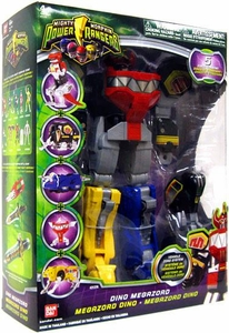 Power Rangers Mighty Morphin Dino Megazord [5 Zords Combine]