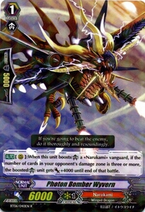 Cardfight Vanguard ENGLISH Breaker of Limits Single Card Rare BT06-040EN Photon Bomber Wyvern