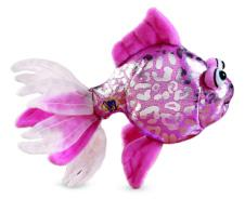 Lil'Kinz Mini Plush Pink Glitter Fish