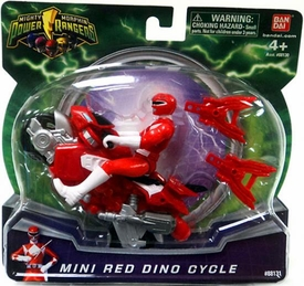 Power Rangers Mighty Morphin Mini Red Dino Cycle