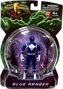 Power Rangers Mighty Morphin 4 Inch Action Figure Blue Ranger