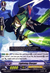 Cardfight Vanguard ENGLISH Breaker of Limits Single Card Common BT06-053EN Lightning Charger