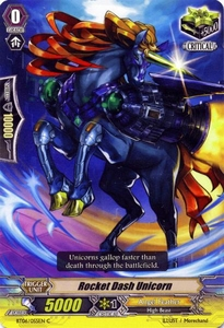 Cardfight Vanguard ENGLISH Breaker of Limits Single Card Common BT06-055EN Rocket Dash Unicorn