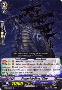 Cardfight Vanguard ENGLISH Breaker of Limits Single Card Common BT06-062EN Stormride Ghost Ship