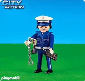 Playmobil City Action Set #6284 Police Chief