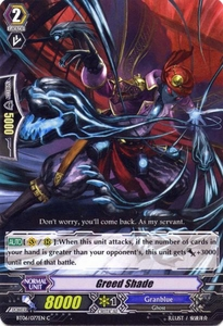 Cardfight Vanguard ENGLISH Breaker of Limits Single Card Common BT06-077EN Greed Shade