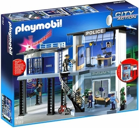 Playmobil City Action Set #5182 Police Station & Alarm System
