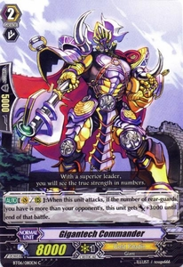 Cardfight Vanguard ENGLISH Breaker of Limits Single Card Common BT06-080EN Gigantech Commander
