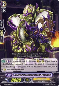 Cardfight Vanguard ENGLISH Breaker of Limits Single Card Common BT06-081EN Sacred Guardian Beast, Elephas