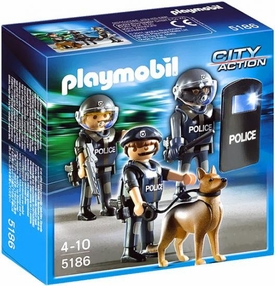 Playmobil City Action Set #5186 Police Special Force Unit